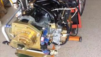 A video DVD presentation of alternate Rotax 912 experimental
