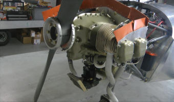 A video DVD presentation of alternate Rotax 912 experimental