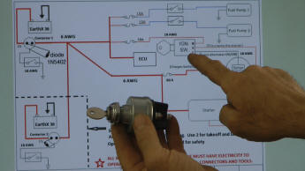 Viking 130 aircraft engine installation DVD video on